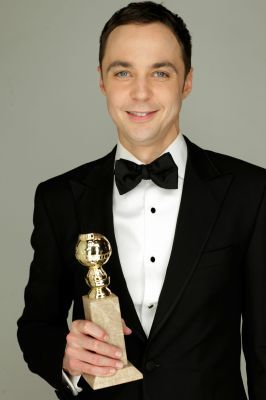 Jim Parsons @ Golden Globes 2011 Portrait