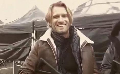 Johann Urb as Leon Kennedy!