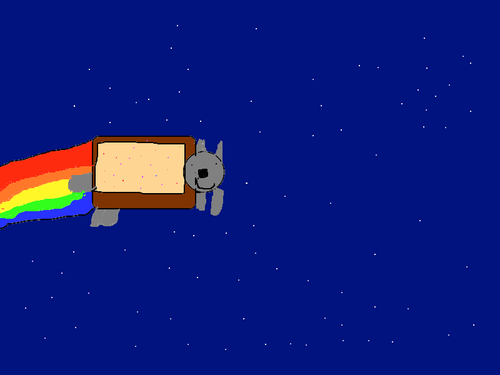My nyan cat
