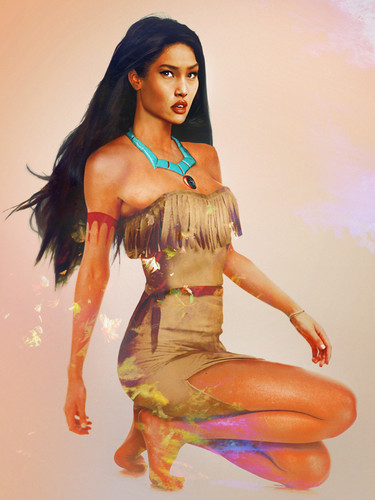 "Princess Pocahontas in ""Real"" Life"