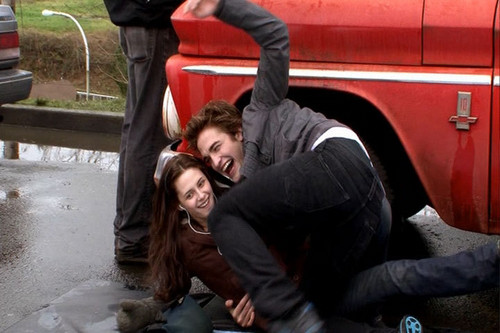Twilight- Behind the scenes