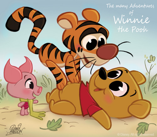 Winnie the Pooh and Co. चीबी