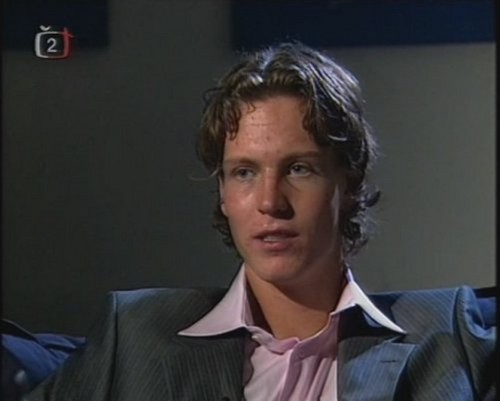 young Tomas Berdych