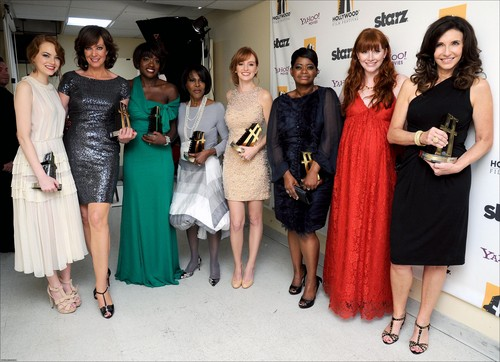 15TH ANNUAL HOLLYWOOD FILM AWARDS GALA - BACKSTAGE