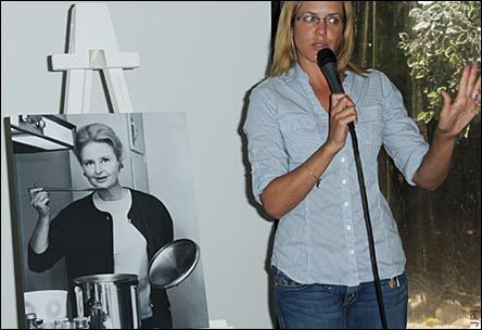 Arianne Zucker Talking About Frances Reid