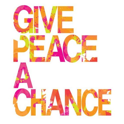 Give Peace and chance