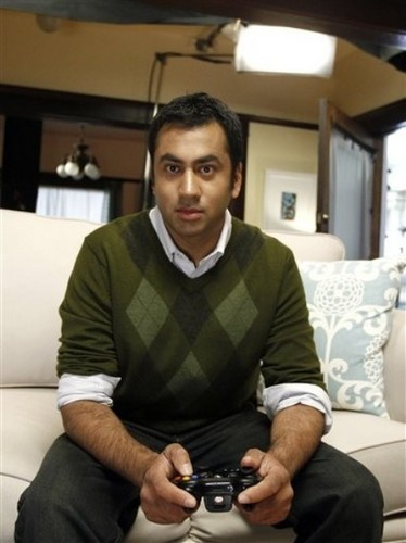 Kal Penn on the Set of the 'Rayman Origins' Commercial Shoot