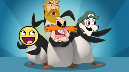 PENGUINS OF FACE MEMES