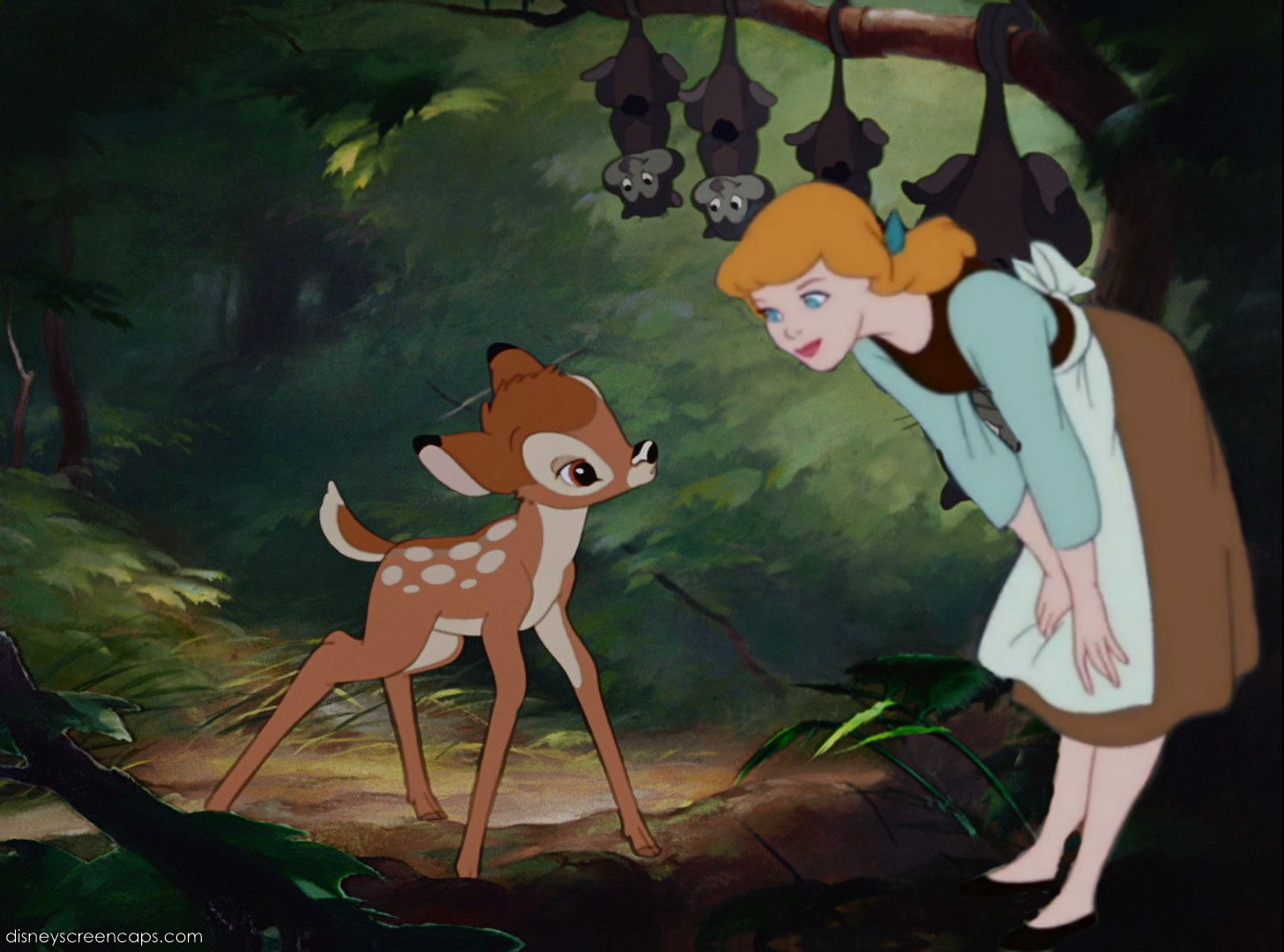 Bambi and Cinderella