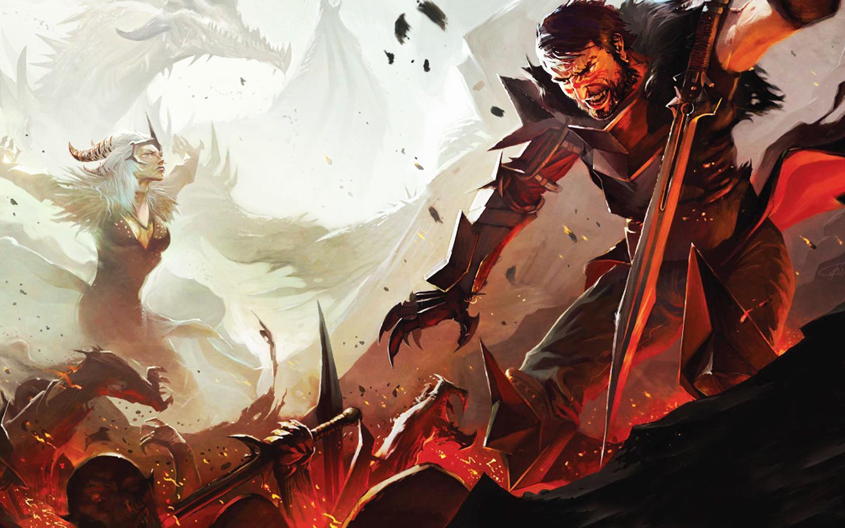 Dragon Age 2 Dragon Age Origins Wallpaper 26540230 Fanpop