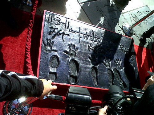 Handprint ceremony [Nov 3rd]