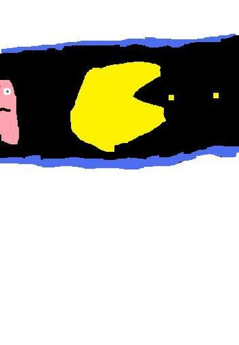 My picture of pac-man