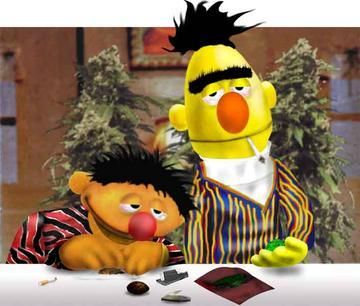 Bert and Ernie Baked