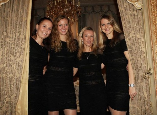 Fed Cup winner czech team
