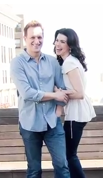 Julianna and Josh Tv Guide Magazine Photoshoot