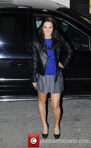 Tulisa leaving The Fountain Studios [06.11.11]