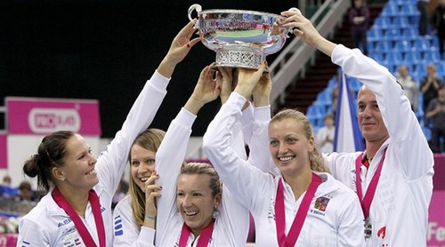 czech team won fed cup !