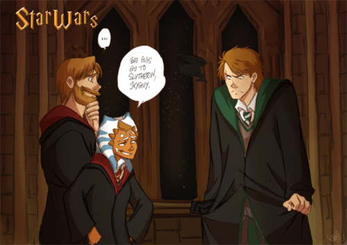 Bad Guys go to Slytherin