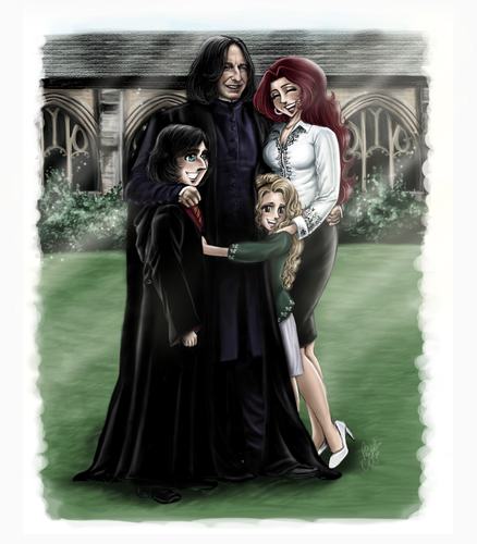 Emily+Severus - The Snapes