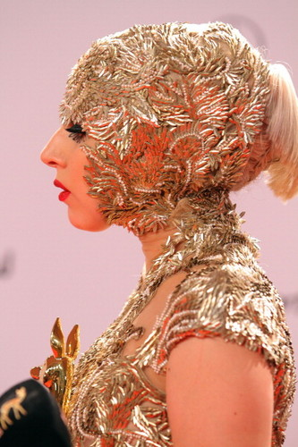 Lady Gaga at Bambi Awards 2011 Press Room