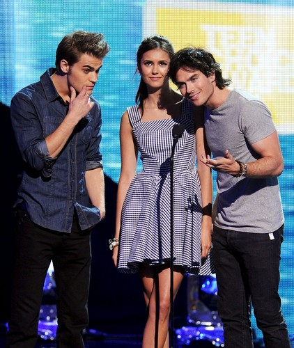 the vampire diaries teen choice awards