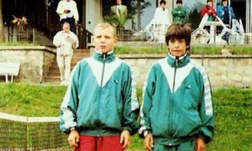 young Tomas Berdych had blond hair