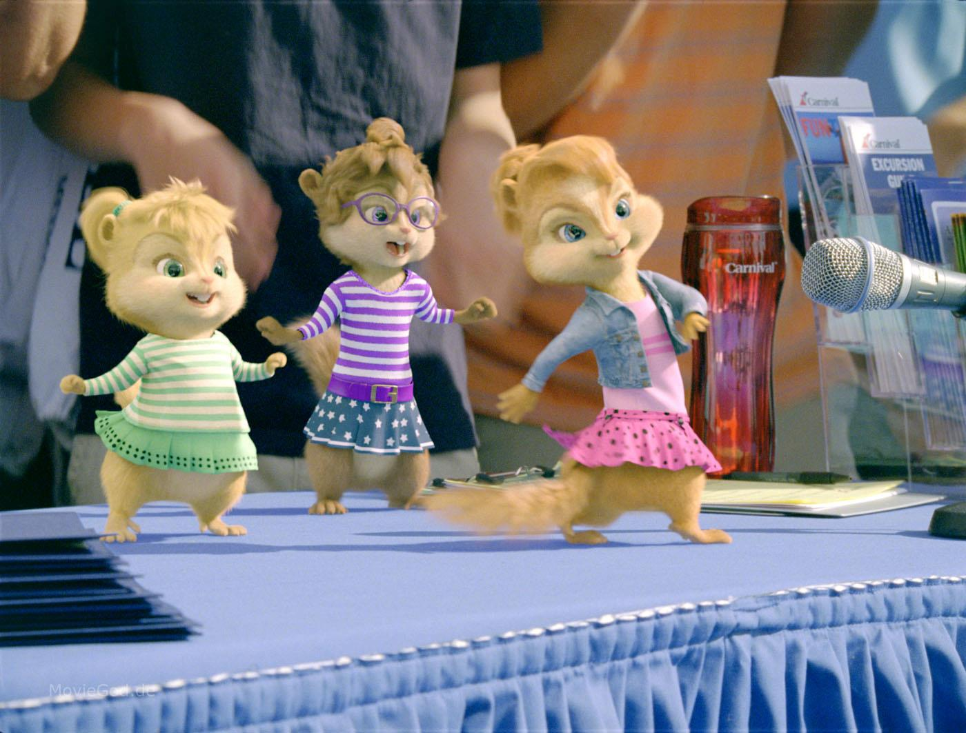 Alvin And The Chipmunks 3 Images chip-wrecked trailer screenshots - alvin and the chipmunks 3