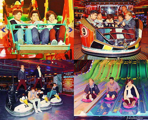 One Direction at fun fair (myedits)