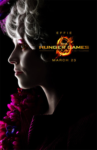 The Hunger Games character poster - Effie Trinket