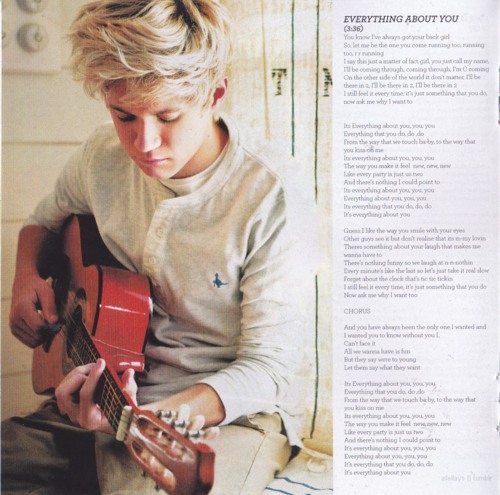 'Up All Night' album book scans!