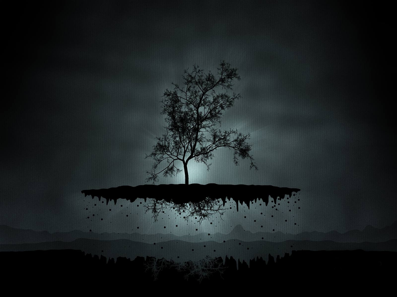 Black Tree Wallpaper