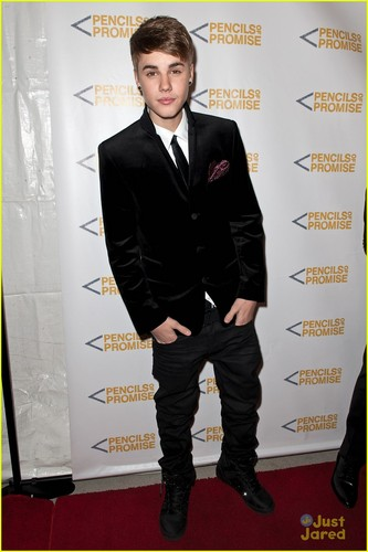 Justin Bieber: Pencils of Promise Gala!