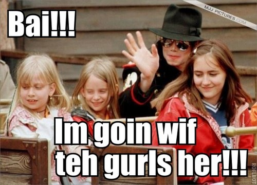 Michael is going with the girls!