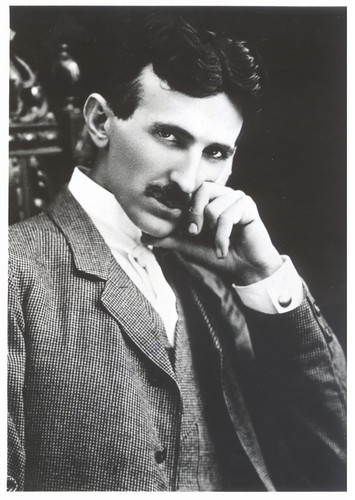 Nicola Tesla after 40