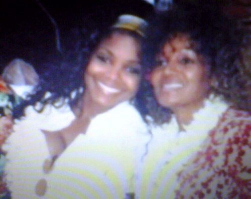 janet jackson with sister rebbie jackson
