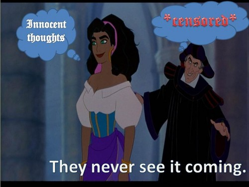 Frollo's thoughts