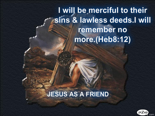 JESUS AS A FRIEND WALL PAPER