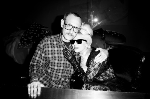 Lady Gaga at the Terry Richardson book launch (by Terry Richardson)
