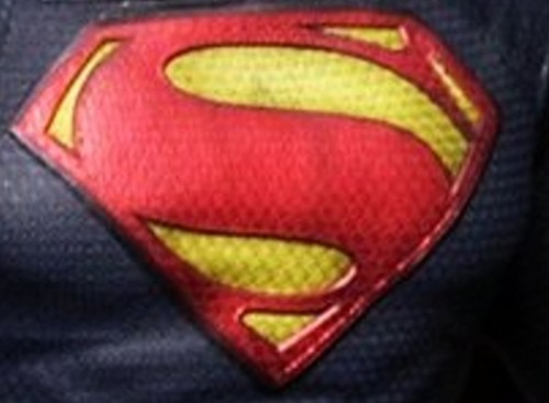 NEW superman chest symbol