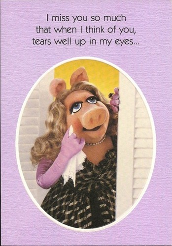 Sad Miss Piggy