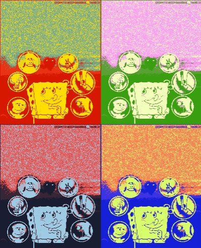 SpongeBob SquarePants Pop Art