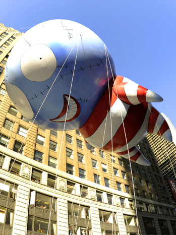 Tim Burton's Thanksgiving Parade Balloon