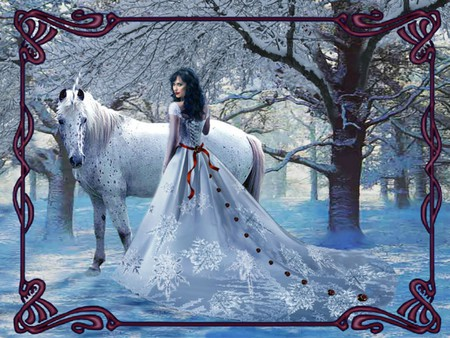 A Beautiful Winter For anda Princess ♥