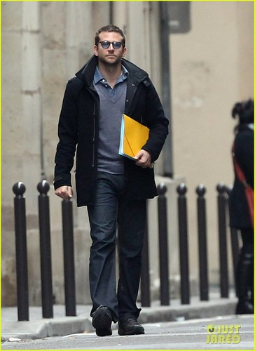 Bradley Cooper: Out and About in Paris!