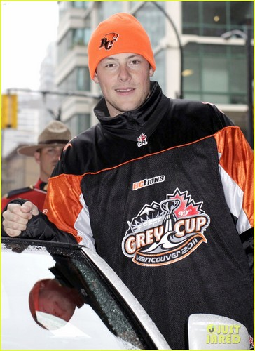 Cory Monteith: Grey Cup Parade's Grand Marshal!