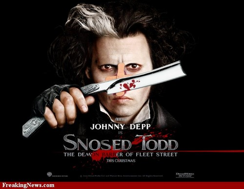 Johnny Depp Without Eyebrows