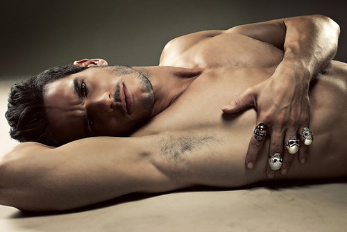 Josh Kloss Shirtless For Pinyo Jewelry