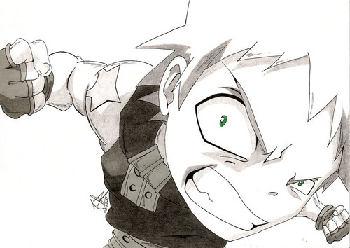 Best drawing of Black★Star EVAR!!!
