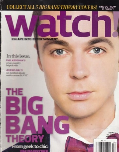 Jim Parsons - The Watch Magazine cover (2009)