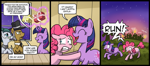 My Little Pony, Friendship... yeah.
